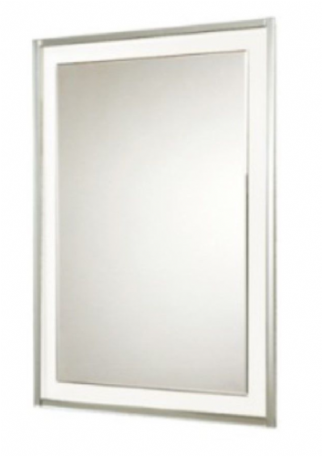 Hib Georgia Mirror On Glass Design, With Bevelled Edge